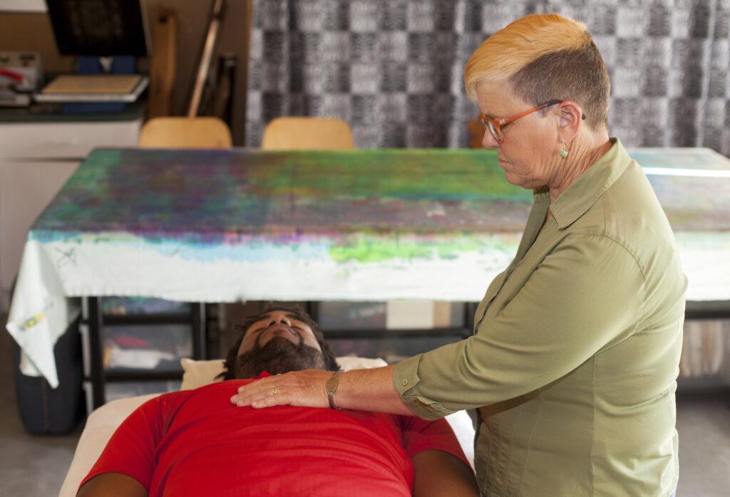 Mel Hofmann Working With Julian